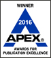 Apex Award Winner 2016